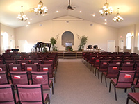 Northern Plains Baptist Church sanctuary